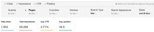 My NG Website SA Data Last Month