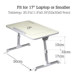 Avantree Adjustable Laptop Stand Fits for Up to 17 inches Laptops
