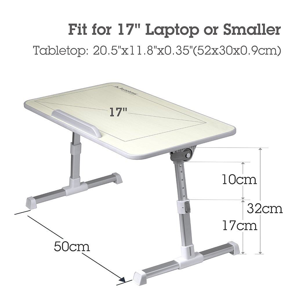 Avantree Tabletop Width is Around 17 Inches