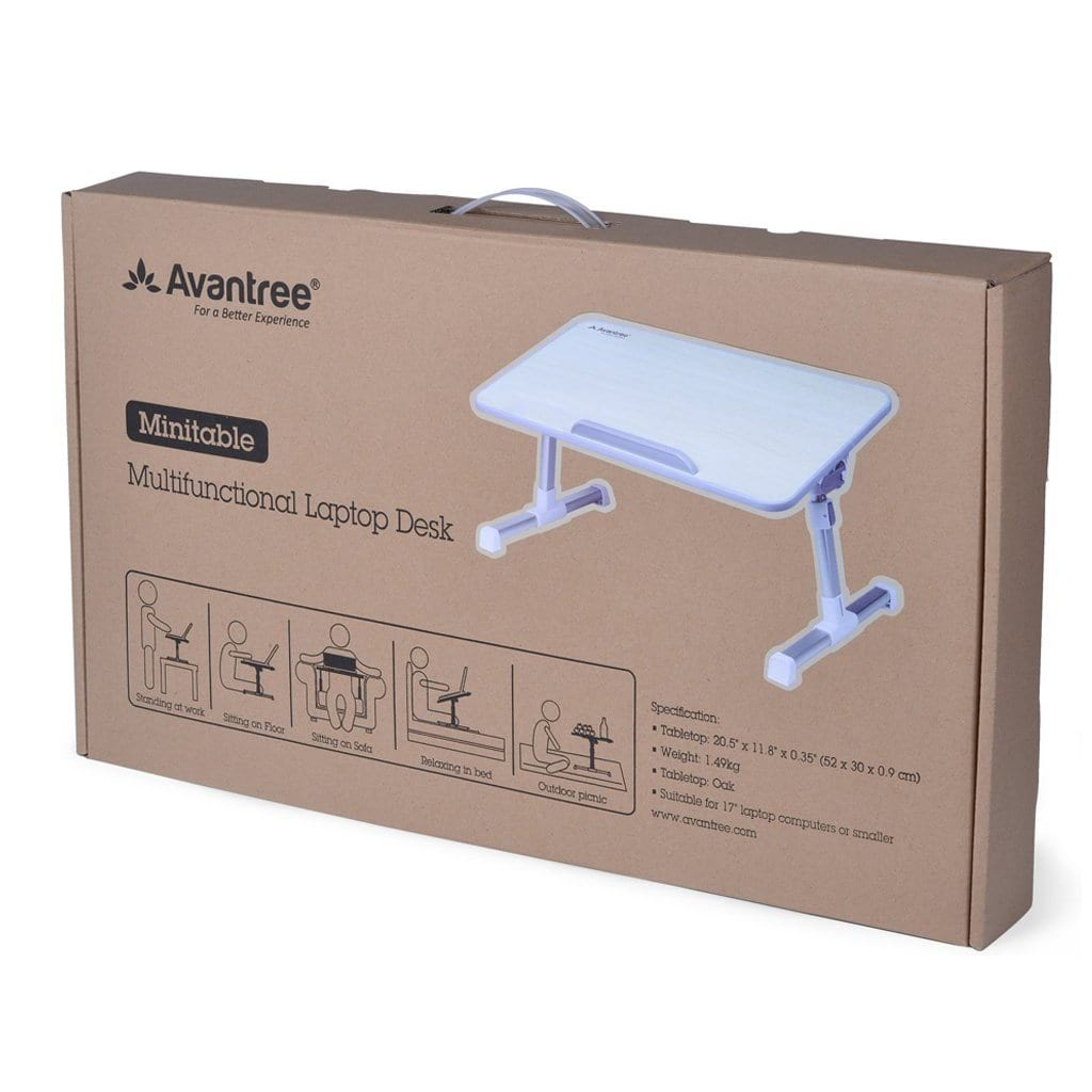 Avantree Laptop Table Packaging