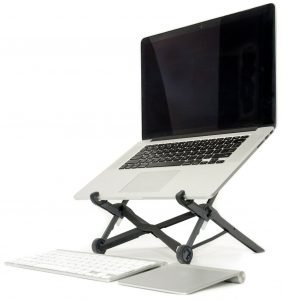 Roost Laptop Stand Front View