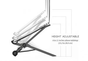 Roost Laptop Stand Height Adjustable