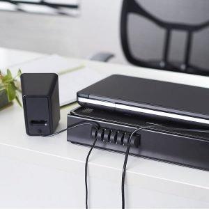 AmazonBasics Laptop Stand Cord Organizer