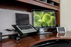 Executive Office Solutions Laptop Stand in Real Life