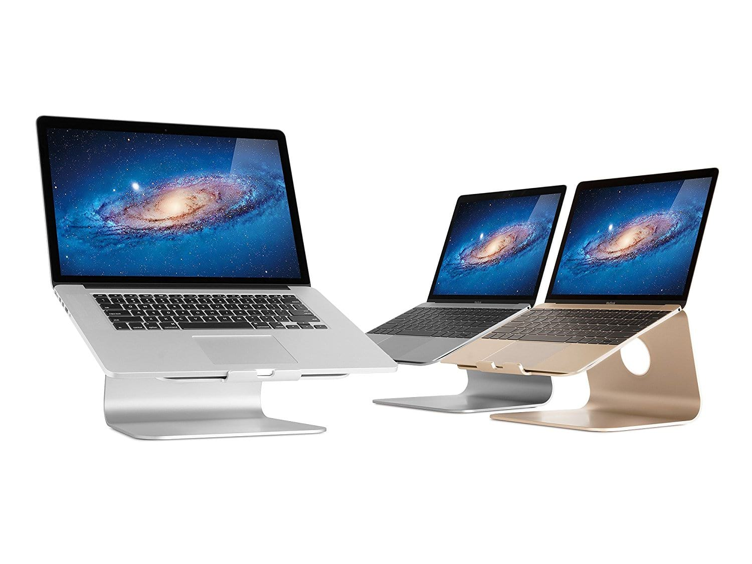 Multiple Rain Design mStand Laptop Stands