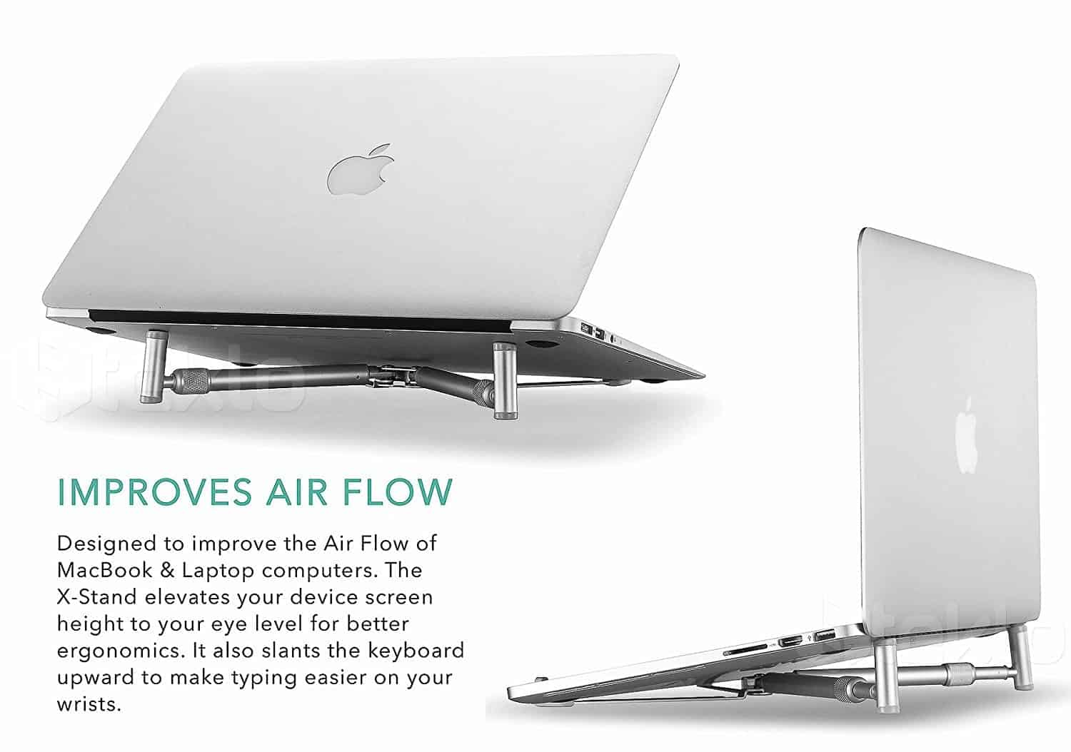 The Steklo X-Stand Improves Air Flow