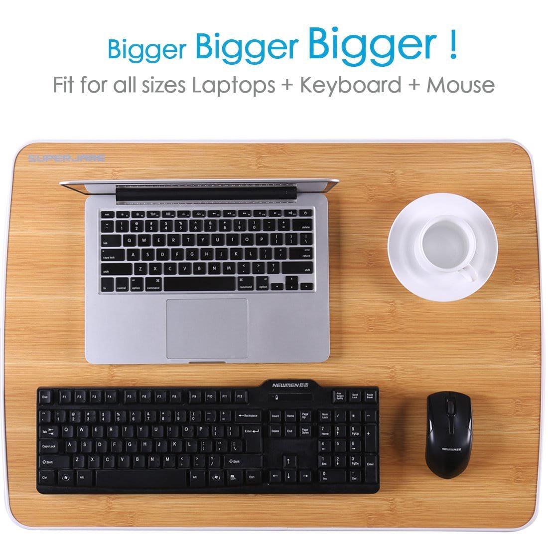 Superjare Laptop Bed Table Bigger and Bigger