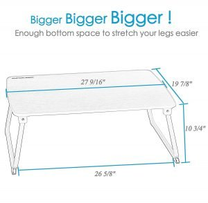 Superjare Laptop Bed Table Bigger Size