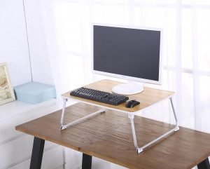 Superjare Laptop Bed Table on the Desk