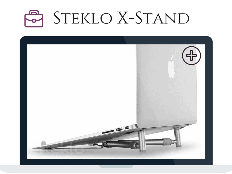 The Steklo X-Stand