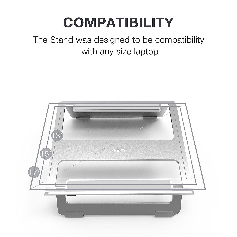 Vogek Laptop Stand Compatibility