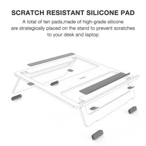 Vogek With Scratch Resistant Silicon Pad Feet