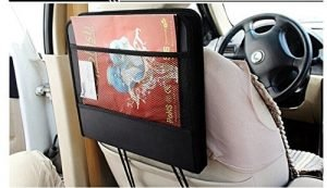 Xindell Car Seat Laptop Stand Holding a Book